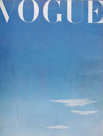 British Vogue Cover October 1945