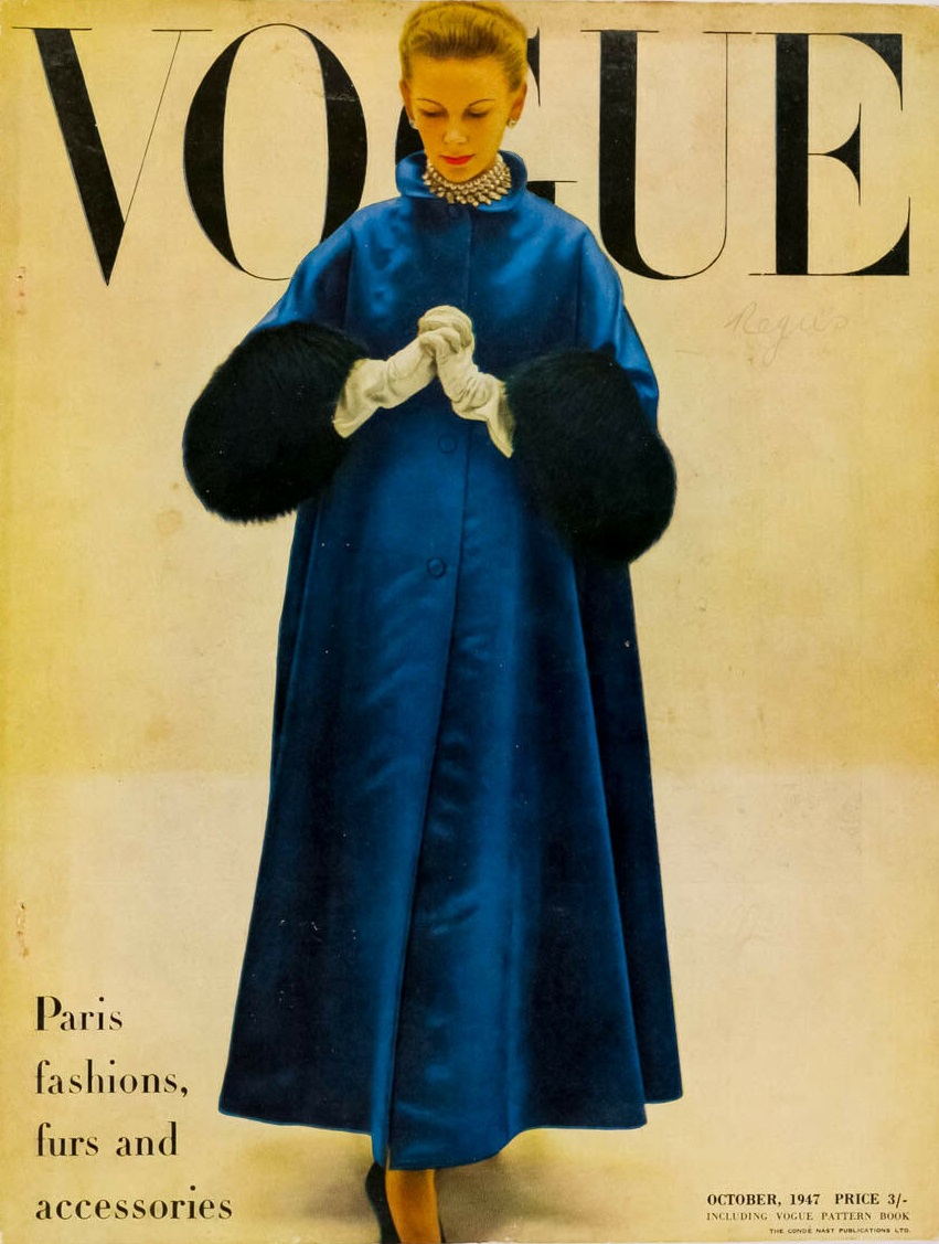 British Vogue Cover October 1947
