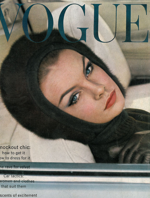 British Vogue Cover October 1962