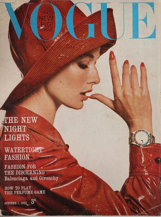 British Vogue Cover October 1963