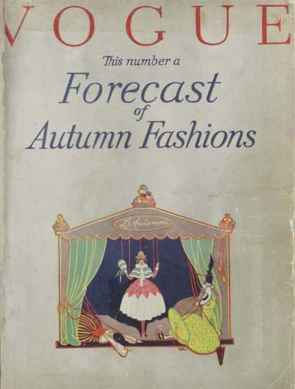 British Vogue Cover September 1916