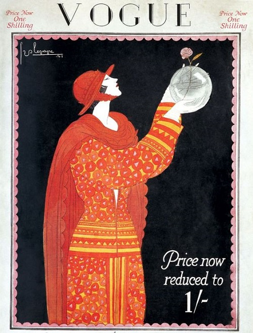British Vogue Cover September 1923