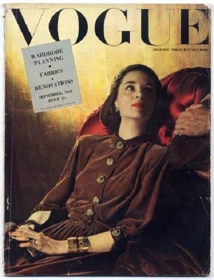 British Vogue Cover September 1944