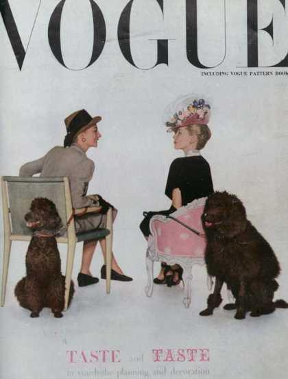 British Vogue Cover September 1945