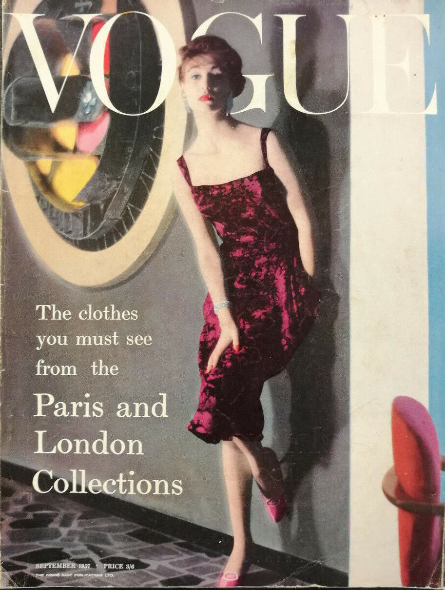 British Vogue Cover September 1957