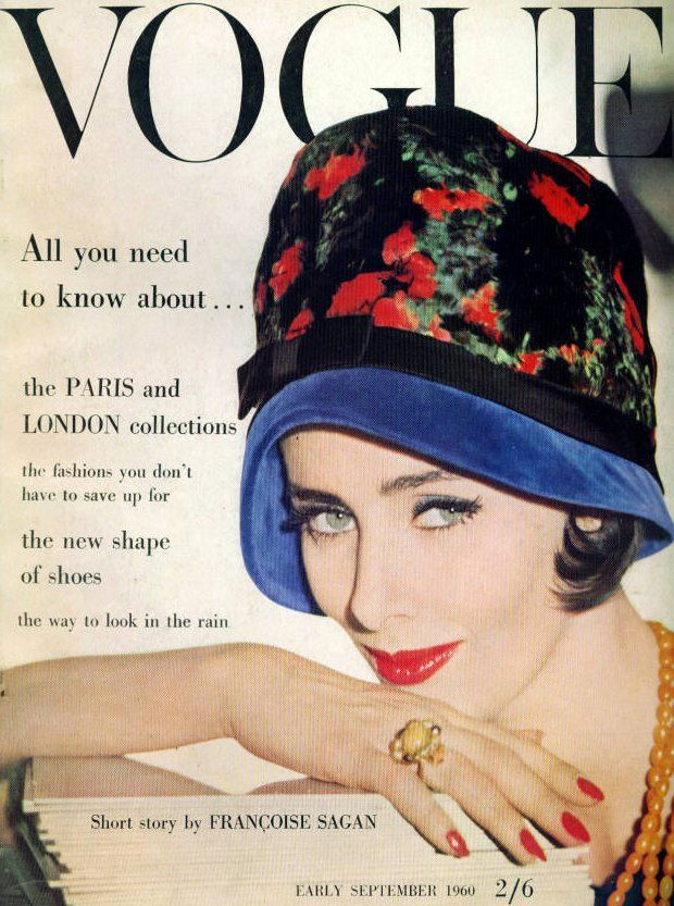 British Vogue Cover September 1960