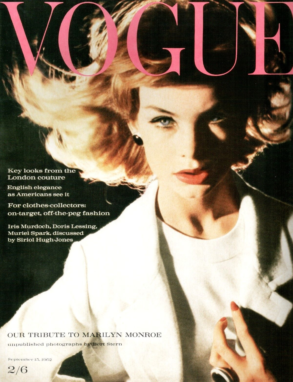 British Vogue Cover September 1962