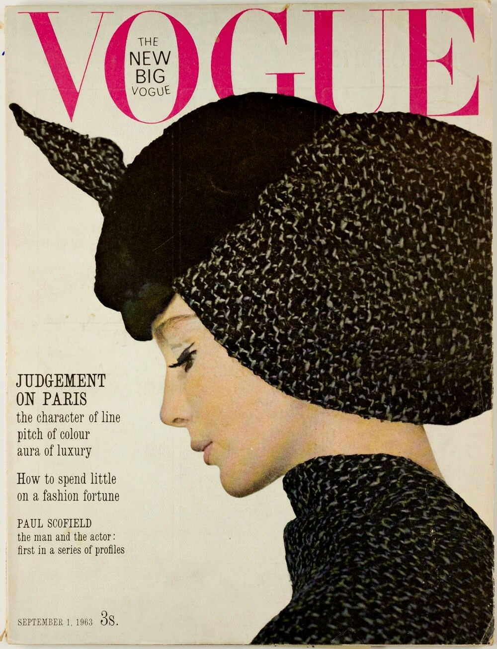 British Vogue Cover September 1963