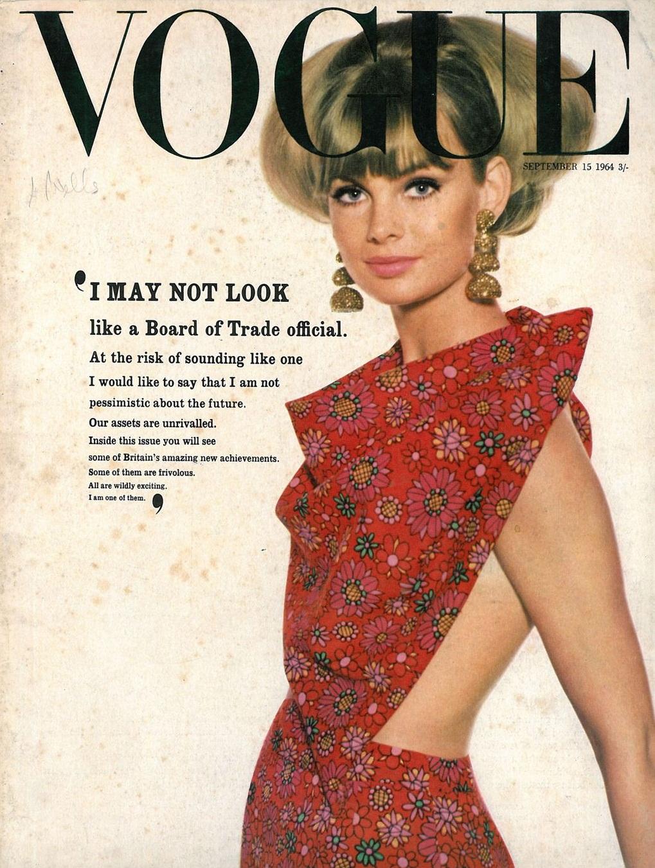 British Vogue Cover September 1964