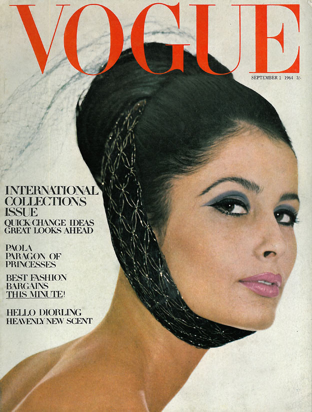 British Vogue Cover September 1964