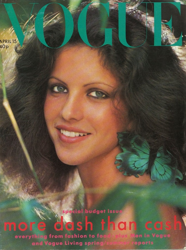 British Vogue Cover April 1975