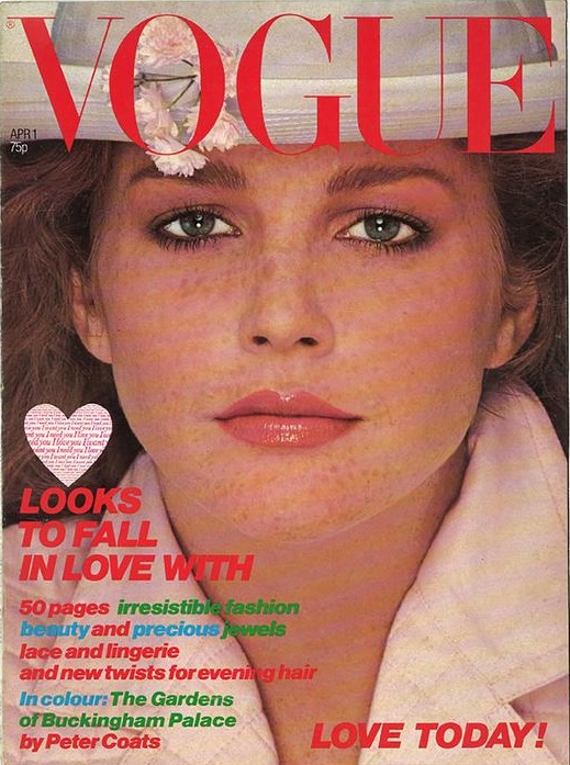 British Vogue Cover April 1978