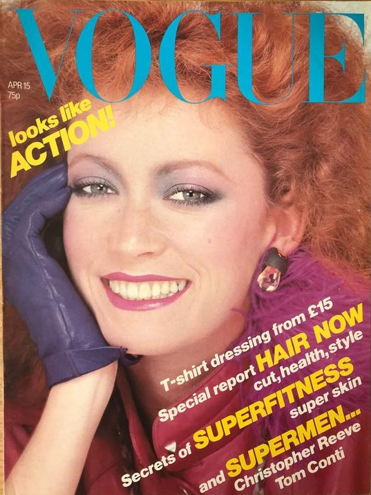 British Vogue Cover April 1979