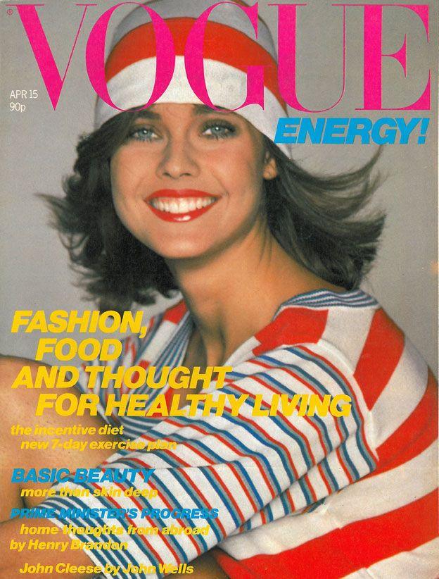 British Vogue Cover April