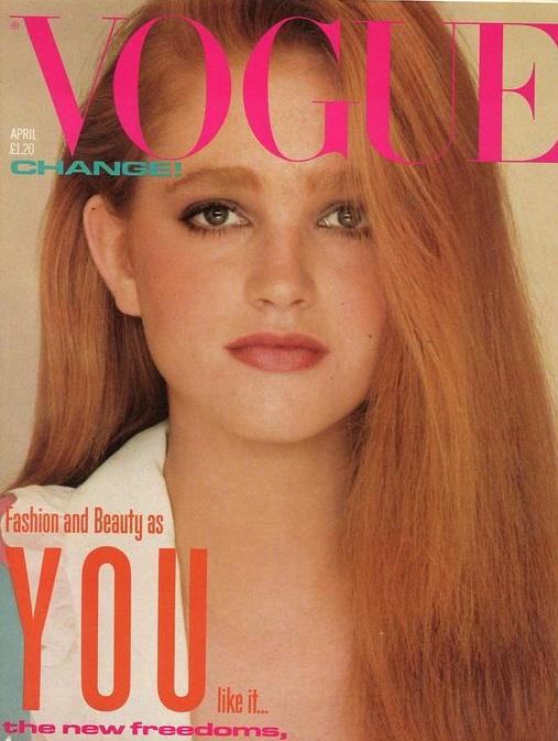 British Vogue Cover April 1982
