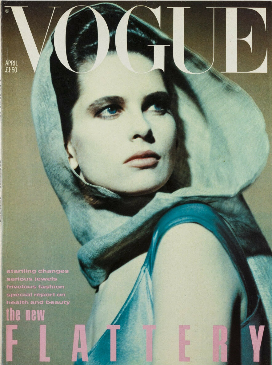 British Vogue Cover April 1984