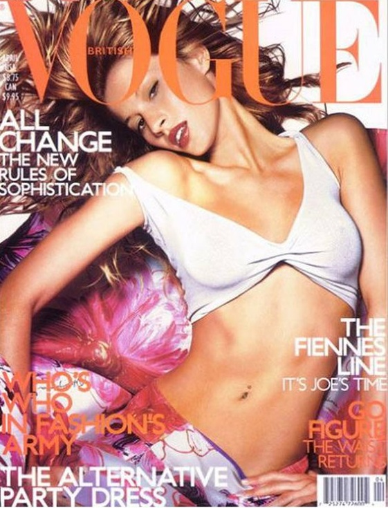 British Vogue Cover April 2001
