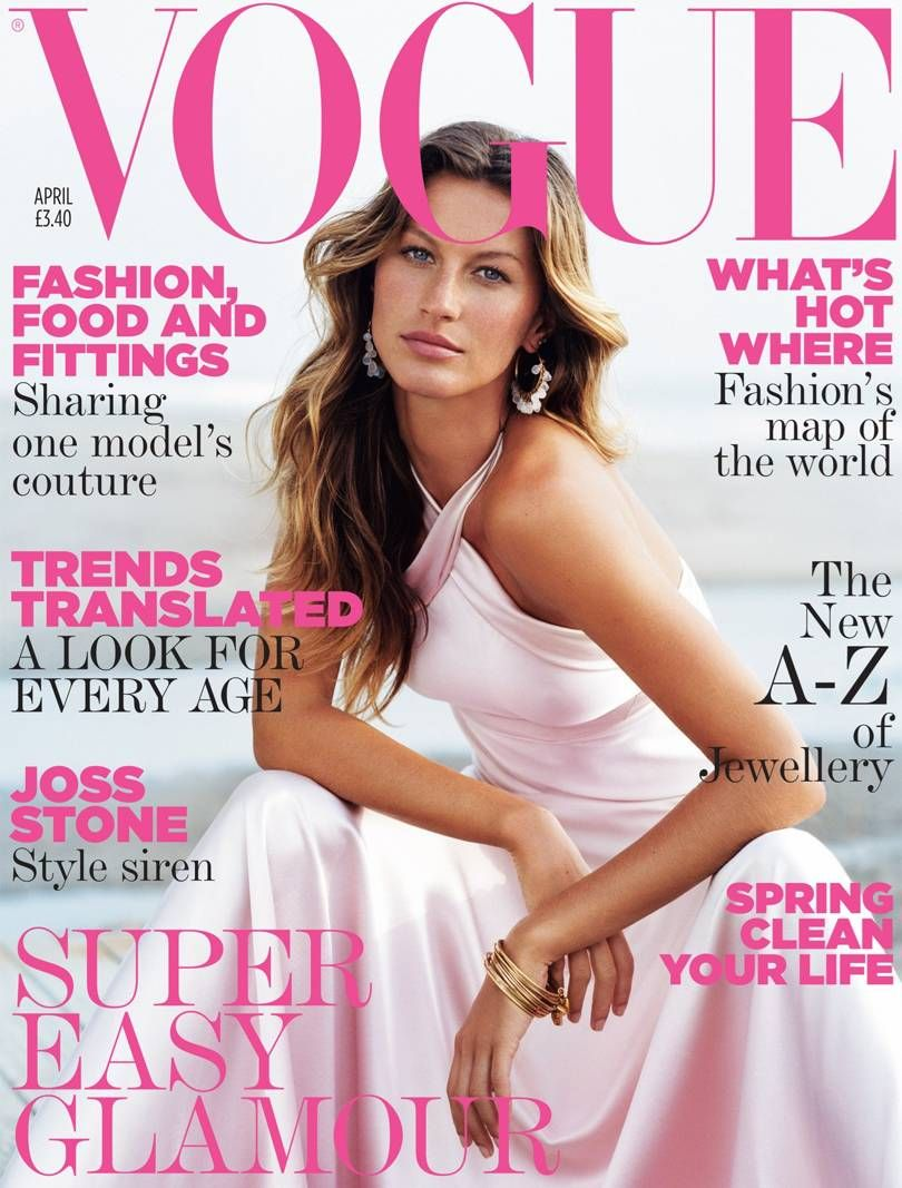 British Vogue Cover April 2005