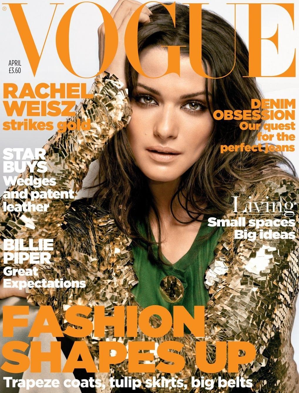 British Vogue Cover April 2006