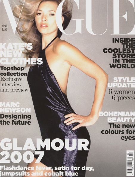 British Vogue Cover April 2007