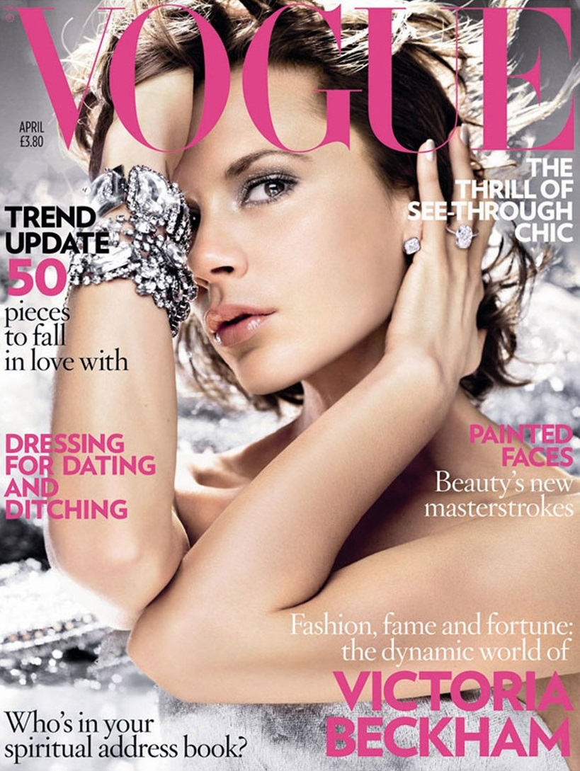 British Vogue Cover April 2008