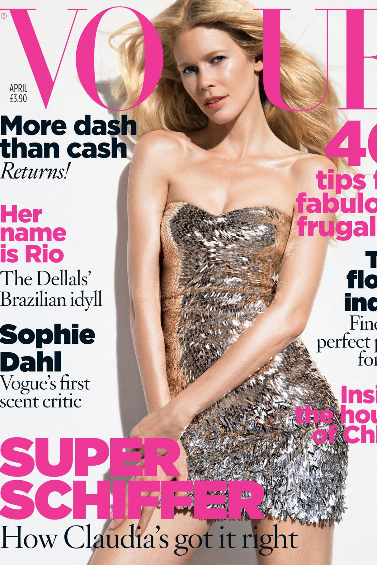 British Vogue Cover April 2009