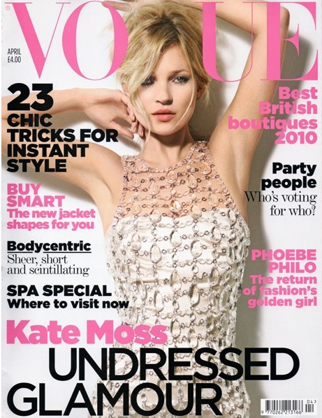 British Vogue Cover April 2010