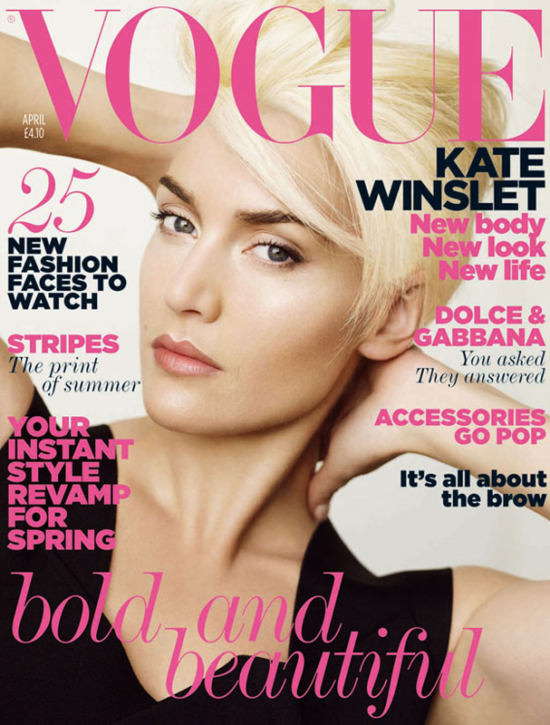 British Vogue Cover April 2011
