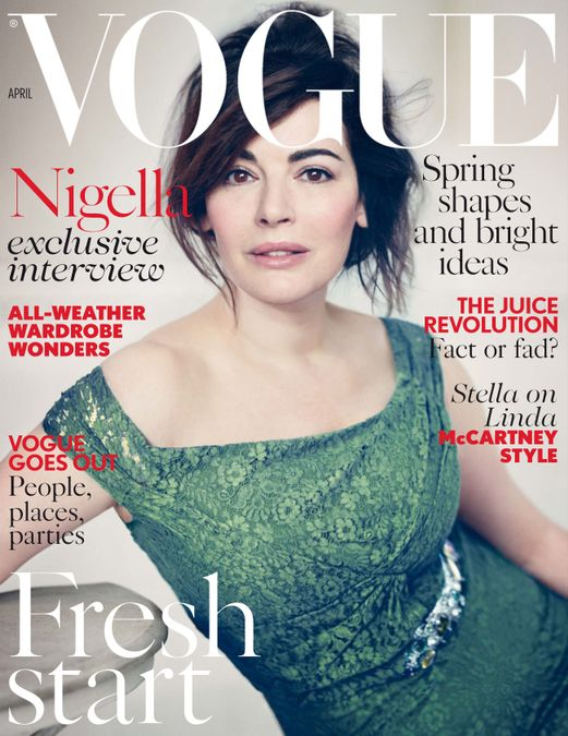 British Vogue Cover April 2014