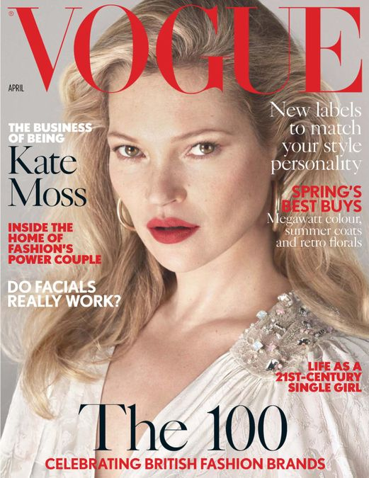 British Vogue Cover April 2017