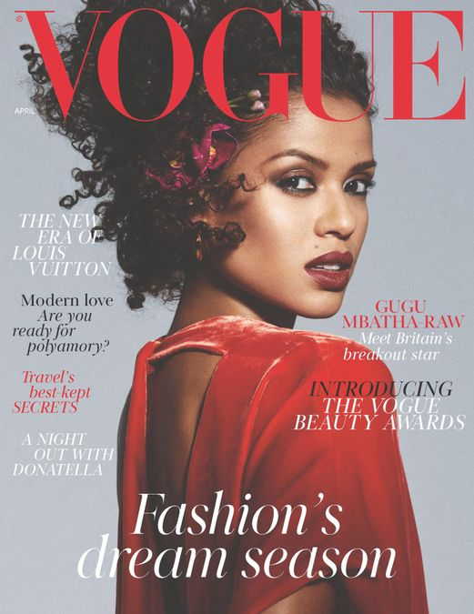 British Vogue Cover April 2018