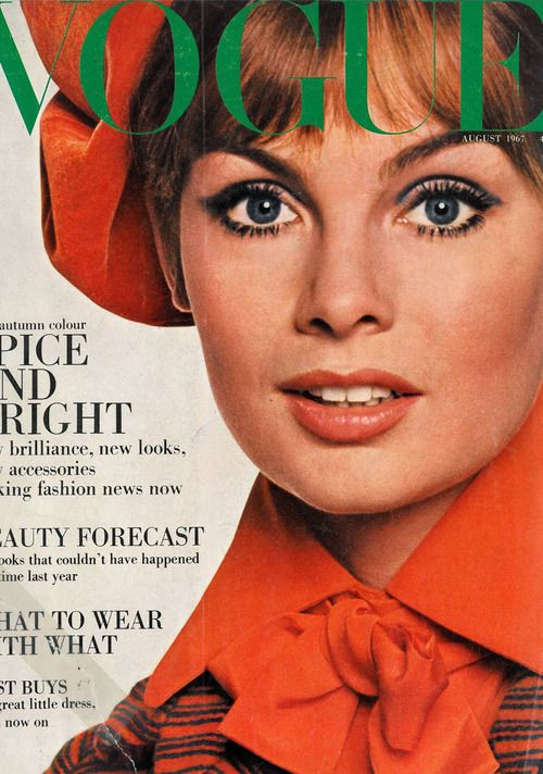 British Vogue Cover August 1967