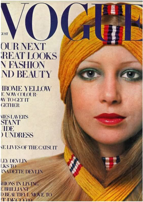 British Vogue Cover August 1969