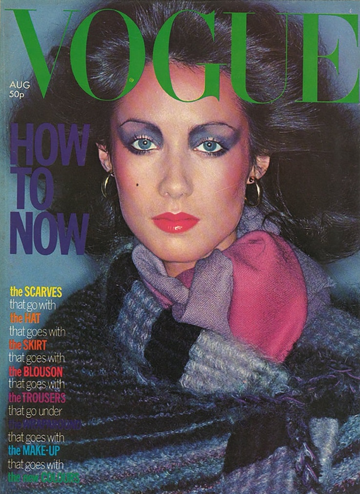 British Vogue Cover August 1976