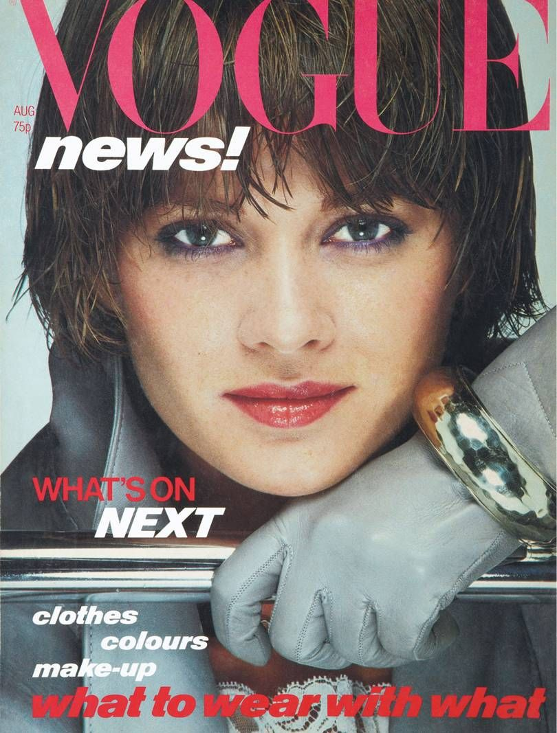 British Vogue Cover August 1978