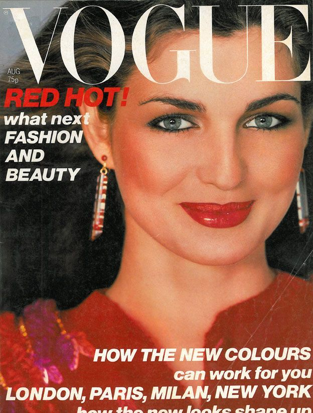 British Vogue Cover August 1979