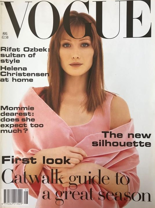 British Vogue Cover August 1993