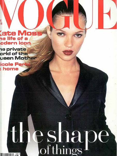 British Vogue Cover August 1994