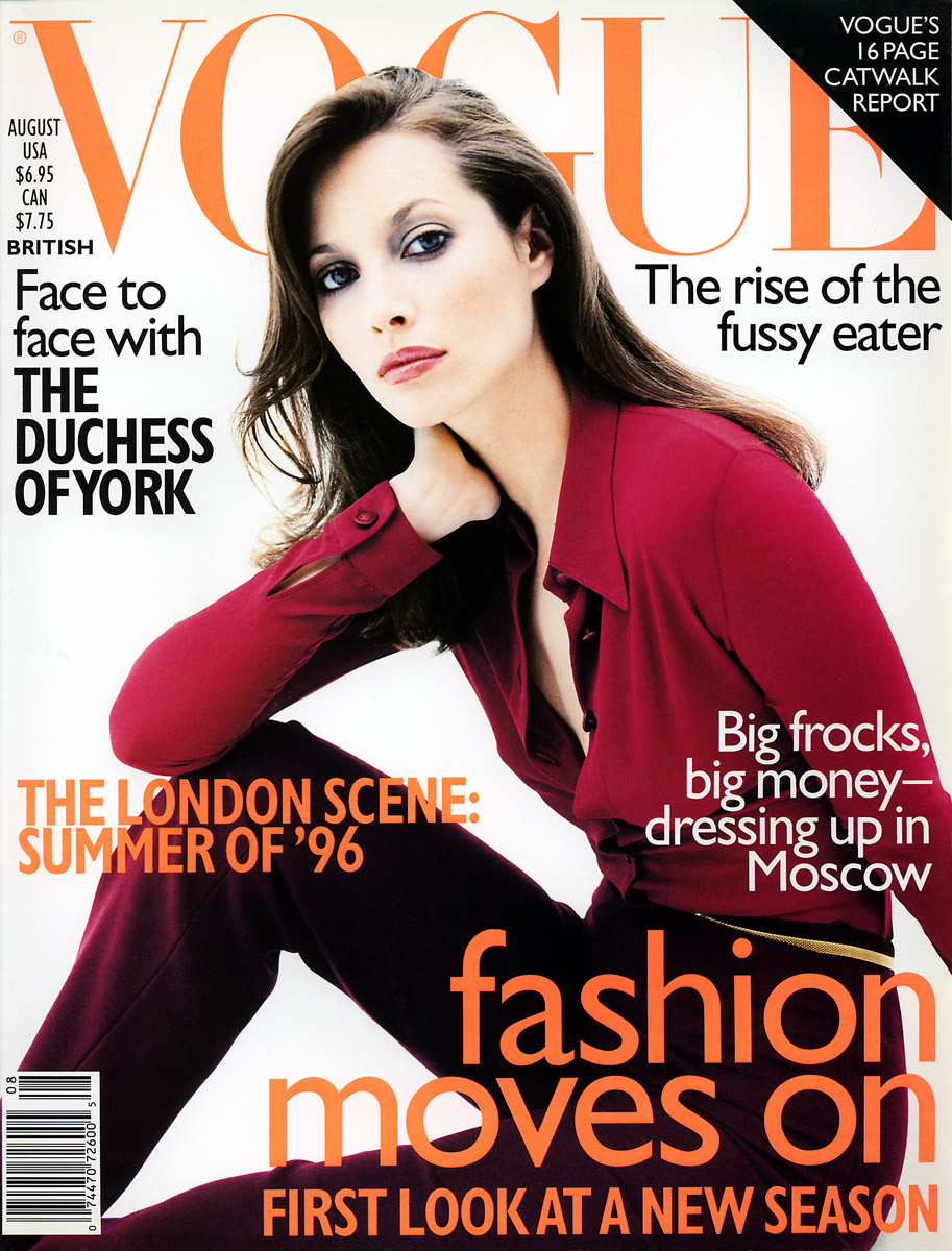 British Vogue Cover August 1996