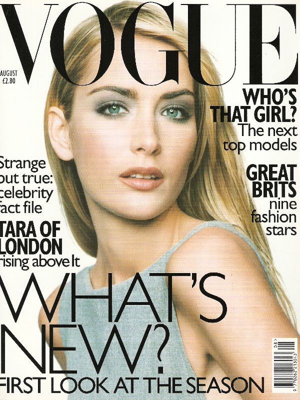 British Vogue Cover August 1997