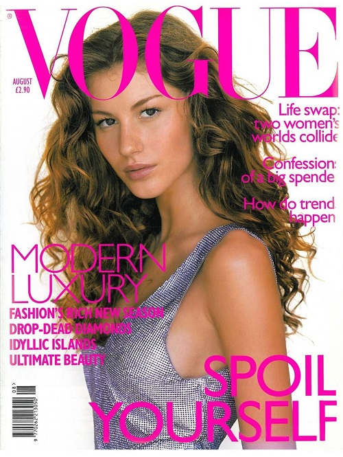 British Vogue Cover August 1998