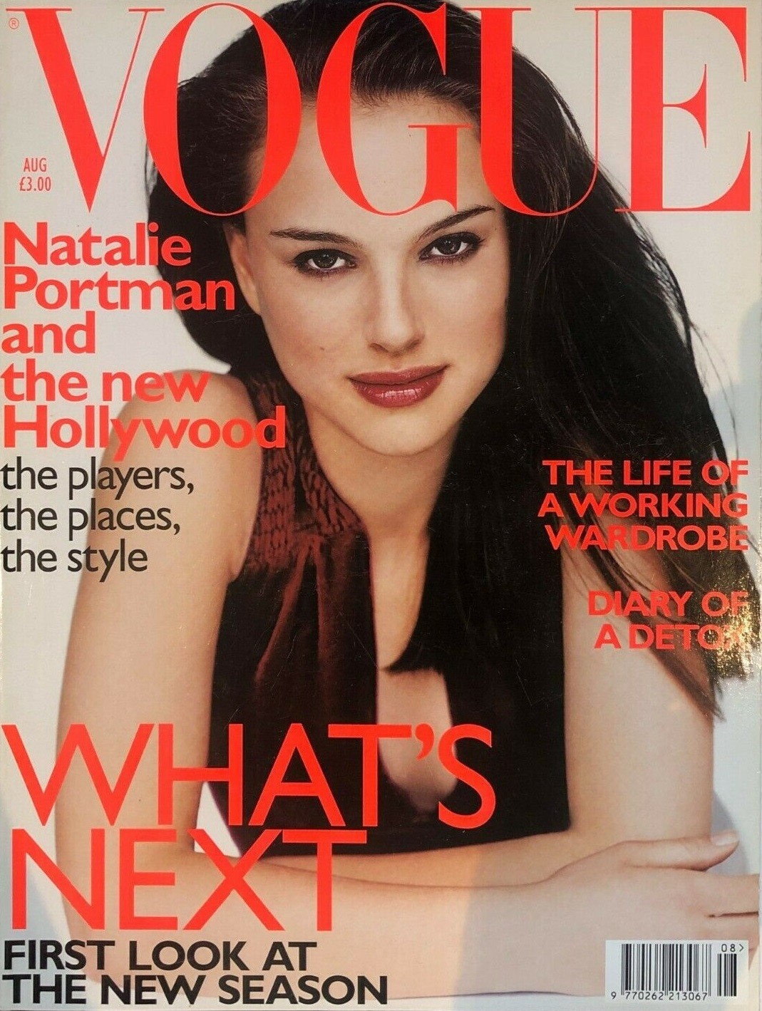 British Vogue Cover August 1999