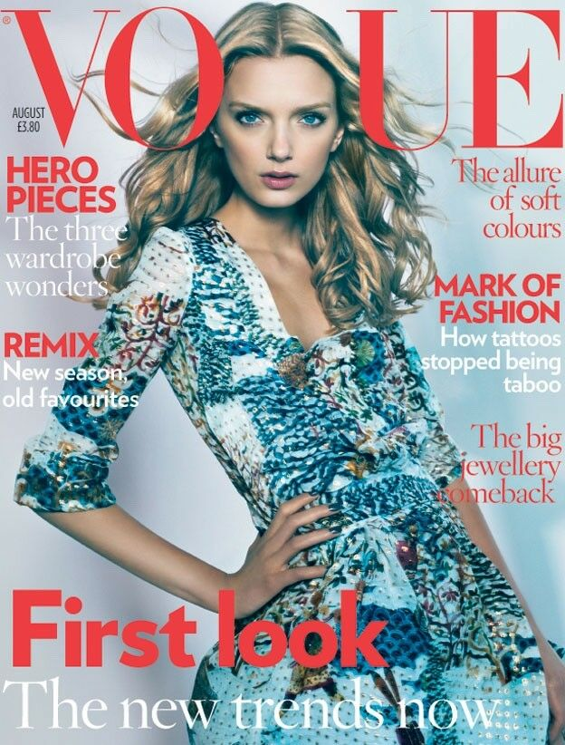 British Vogue Cover August 2008