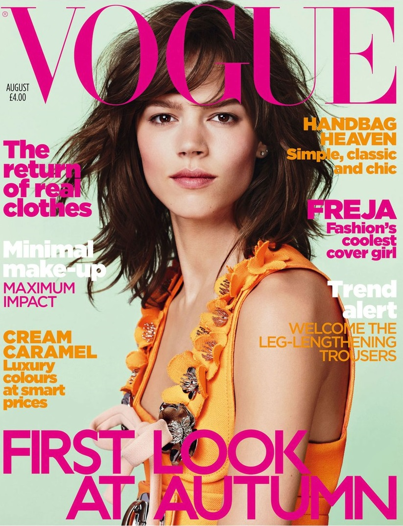 British Vogue Cover August 2010