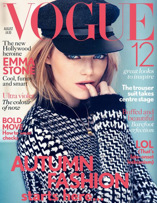British Vogue Cover August 2012