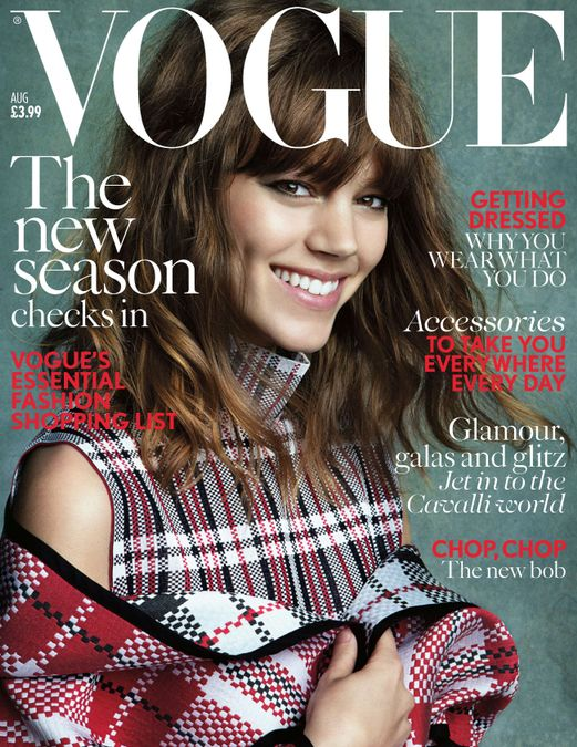 British Vogue Cover August 2013