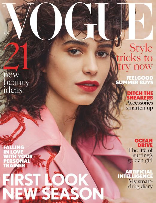 British Vogue Cover August 2017