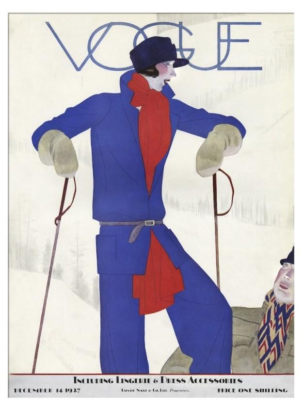 British Vogue Cover December 1927