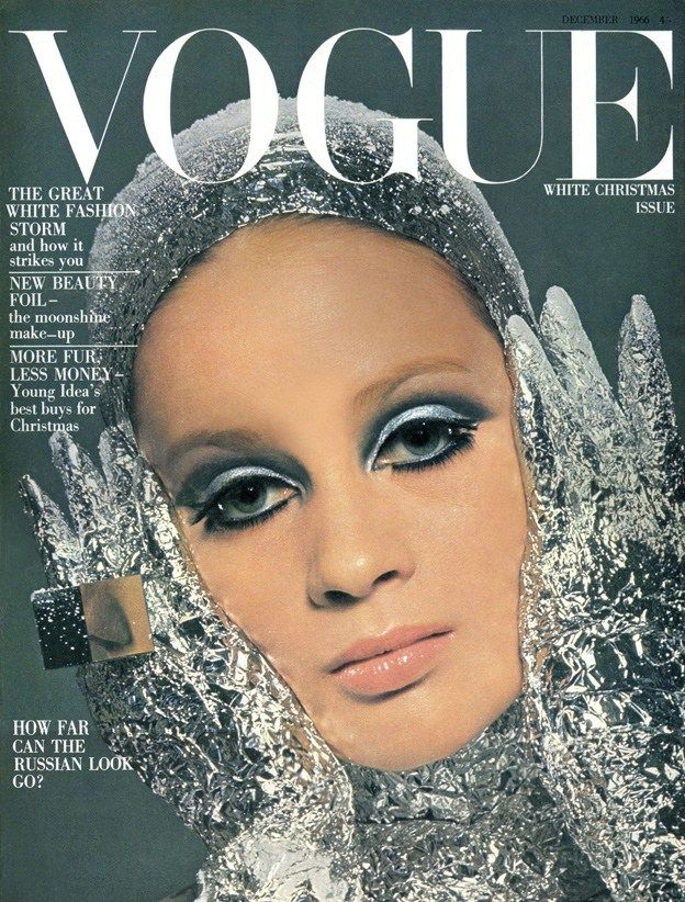 British Vogue Cover December 1966