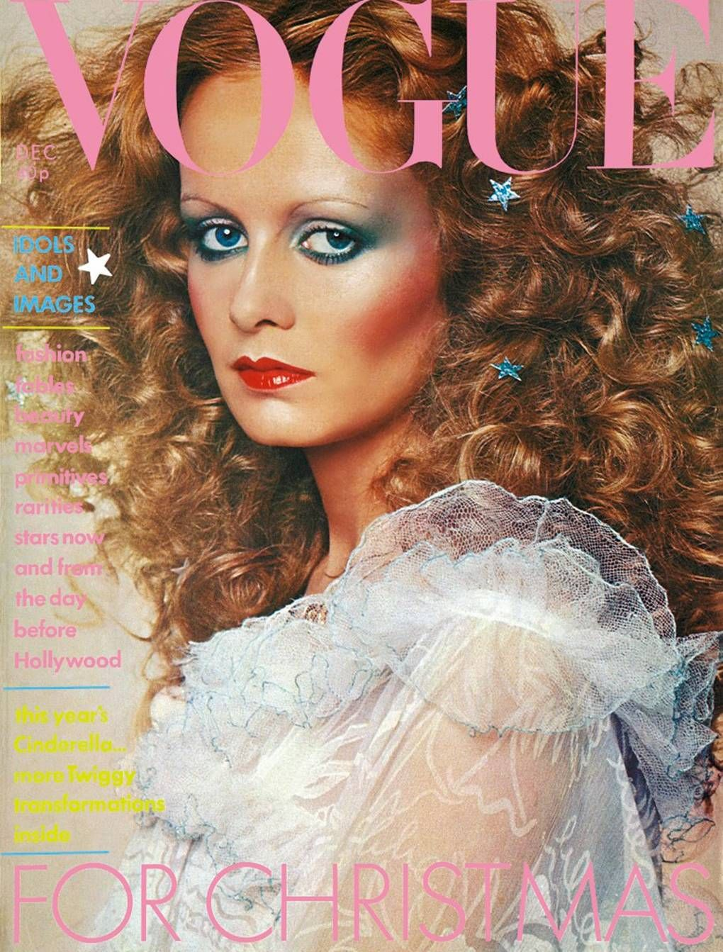 British Vogue Cover December 1974